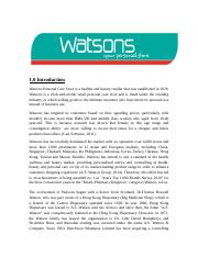 Retail Group Assignment_Watson.docx