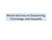 Wessel.Levy.Blinder on Outsourcing and Technology