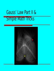 Lecture 4-221 - Gauss' Law Continued F19.pptx