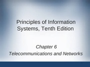 Principles of Information Systems chapter 06