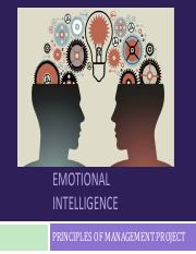 Emotional Intelligence Powerpoint ppt - EMOTIONAL INTELLIGENCE