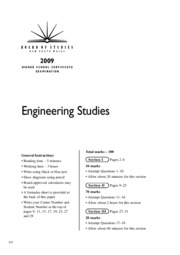 2009-hsc-exam-engineering-studies