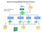 Generic Drug ANDA review process