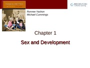 Chapter 1 — Sex and Development