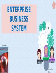 Enterprise Business System2