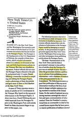 NYtimes vs. U.S Case Study with Student generated annotations
