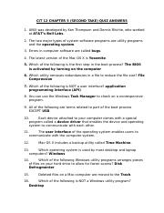 CIT 12 CHAPTER 5 SECOND TAKE QUIZ ANSWERS.docx