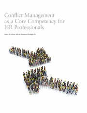 Conflict Management as a Core Competency for HR Professionals