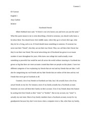 Classification Division Essay