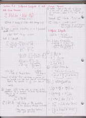 Chapter 5.4 Indefinite Integrals & Net Change  Theorem