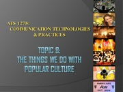 ATS 1278 - Com Techs & Pracs - PP - Week 8 - 2014