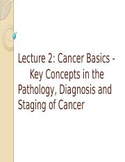 Lect2 Cancer Basics -