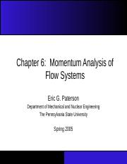 Chapter_06 Momentum analysis of flow systems.ppt