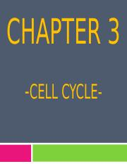 3.0 CELL REPRODUCTION edit.ppt