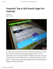 Pocket_ Featured_ Top 10 Job Search Apps For Android