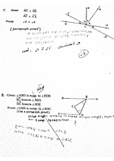 Worksheets Geometry Honors Worksheets honors geometry congruent triangles worksheet 1 pages paragraph proof review