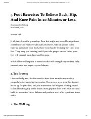 5 Foot Exercises To Relieve Back, Hip, And Knee Pain In 20 Minutes or Less_.pdf