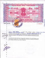 Non-Criminal Affidavit pdf - Whereas I an adult Indian