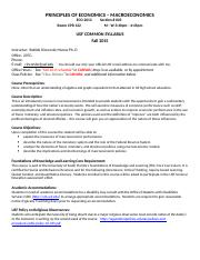 USF ECO 2013 Fall 15 Common Syllabus (Macro).docx