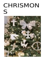 Updated Chrismons Corrected Document