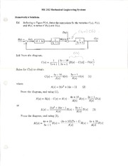 HW 06 Solutions