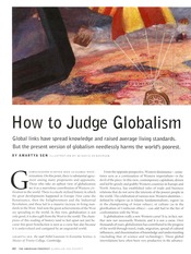 How to Judge Globalism