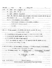 Stat 447 Probability Homework Solutions
