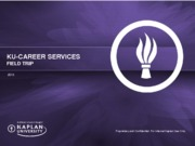 Unit 3 Seminar Slides from KU Career Services