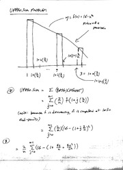 Solutions to Upper Sum Problem (51, p. 269)Ma123 F05
