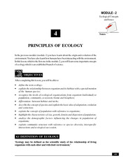 4_Principles of Ecology