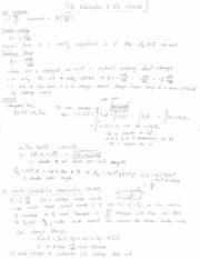 PHYS 2220 - Introduction to RLC Circuit Notes