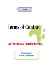 L3 Terms of Contract 2016 17.ppt