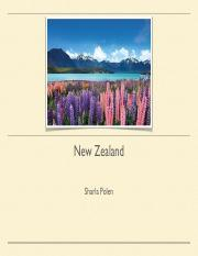 New Zealand Project PDF