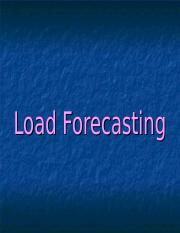Load Forecasting.ppt