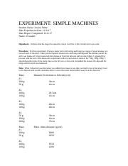 Experiment; Simple Machines!.rtf