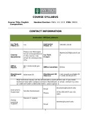 ENGL111 Syllabus - click HERE to open (1)