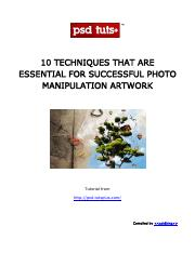 10 Techniques that are Essential For Successful Photo Manipulation.pdf