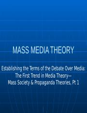 Establishing the Terms of the Debate Over Media Pt 1.pptx