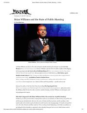 Brian Williams and the State of Public Shaming -- Vulture.pdf