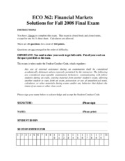 FinalSolution362-Fall2008