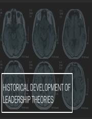 Lecture 4-Leadership theories