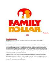 Family Dollar Presentation.docx