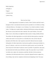 Synthesis Essay- How Can One's Style Reflect His or Her Ideals-.docx