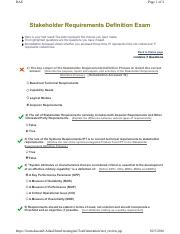 (2.2) Stakeholder Requirements Definition Exam.pdf