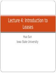 Lecture 4 Lease Contract(1)