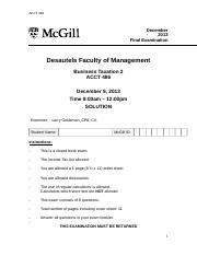 ACCT 486 Fall 2013 Final Exam Solution.docx