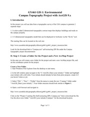 Campus Topographic Project