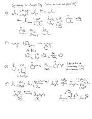 Synthesis Problem Set 6 Solution