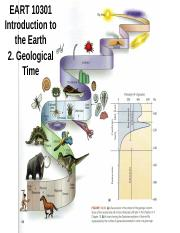 2. EART 10301 - Geological Time(1).ppt