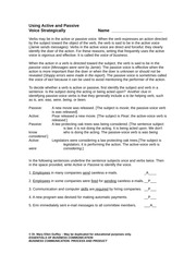 active_passive_voice worksheet with answer-2